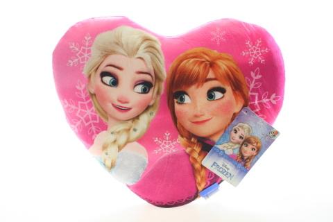 Polštář srdce Frozen