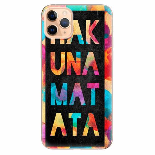 Silikonové pouzdro iSaprio - Hakuna Matata 01 - iPhone 11 Pro Max
