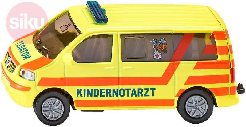 SIKU VW Transportér ambulance model 1462 KOV