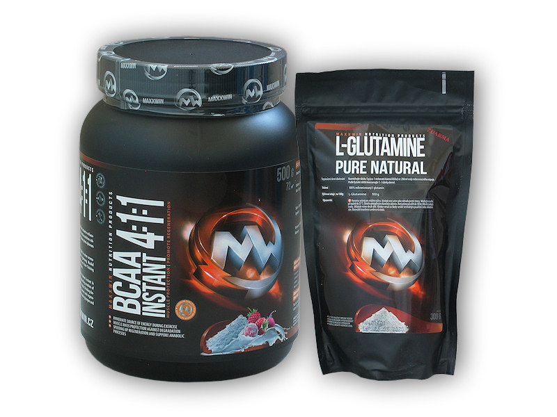 BCAA Instant 4:1:1 500g + L-Glutamin - 300g-energy
