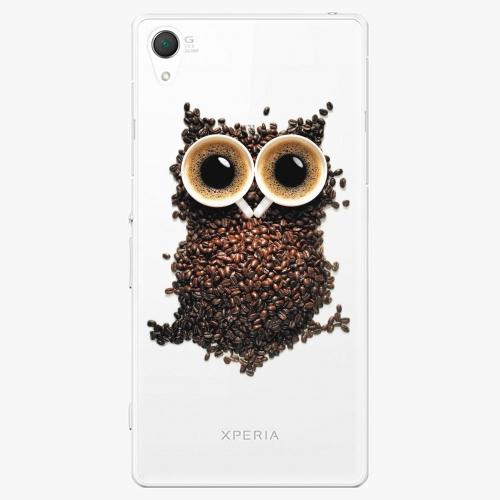 Plastový kryt iSaprio - Owl And Coffee - Sony Xperia Z2
