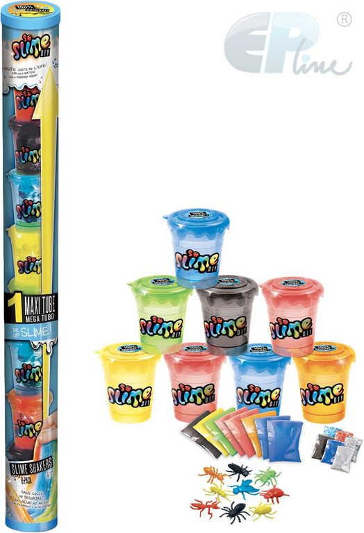 EP line So Slime výroba slizu set kelímek 8ks s figurkami se třpytkami pro kluky