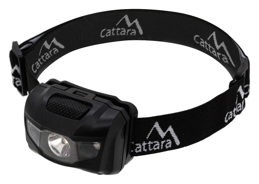 Čelovka LED 80lm černá