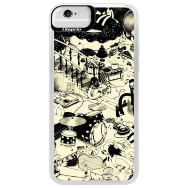 Neonové pouzdro Blue iSaprio - Underground - iPhone 6/6S