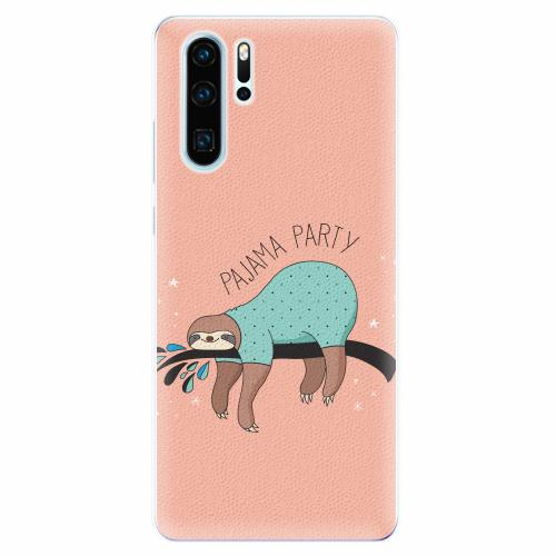 Silikonové pouzdro iSaprio - Pajama Party - Huawei P30 Pro
