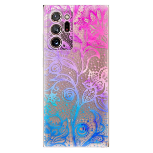 Odolné silikonové pouzdro iSaprio - Color Lace - Samsung Galaxy Note 20 Ultra