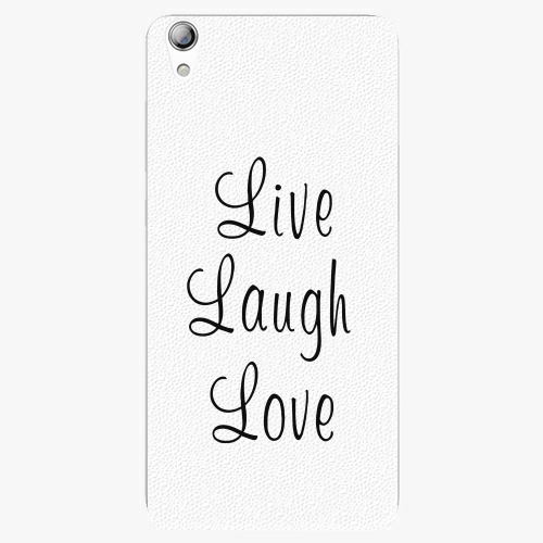 Plastový kryt iSaprio - Live Laugh Love - Lenovo S850
