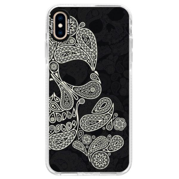 Silikonové pouzdro Bumper iSaprio - Mayan Skull - iPhone XS Max
