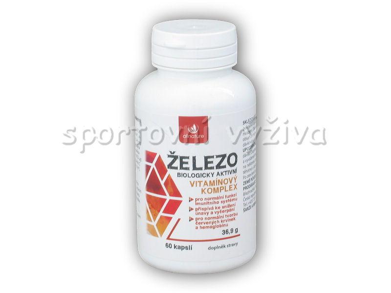 Železo vitaminový komplex 60 kapslí