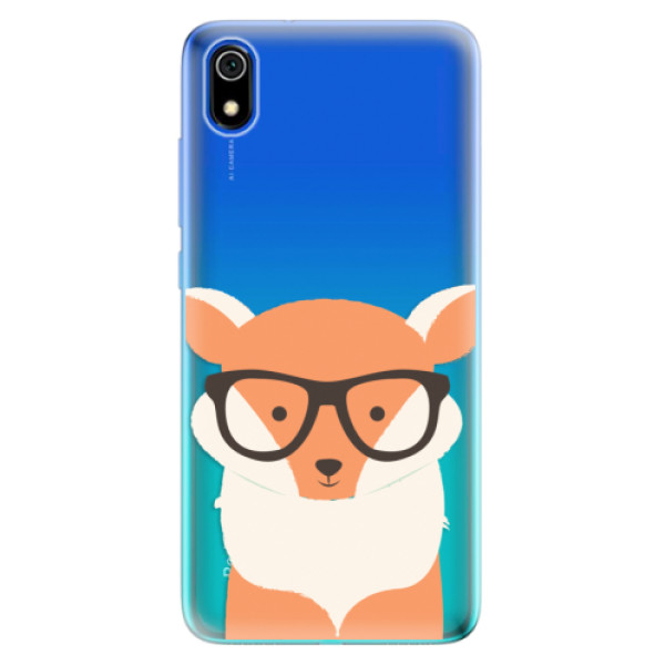 Odolné silikonové pouzdro iSaprio - Orange Fox - Xiaomi Redmi 7A