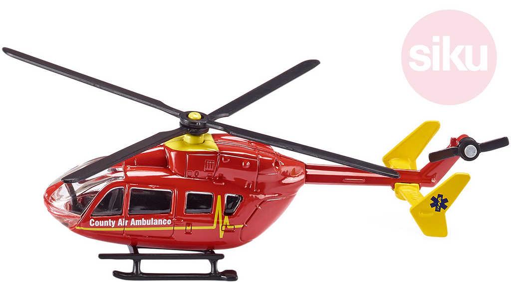 SIKU Taxi vrtulník Taxislužba KOV + PLAST