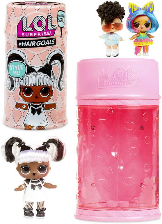 L.O.L. Surprise panenka Hairgoals s doplňky v boxu zábavný set 15 překvapení