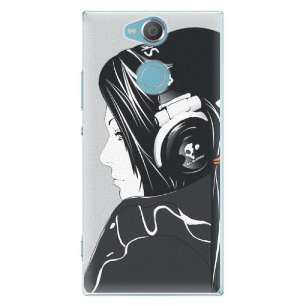 Plastové pouzdro iSaprio - Headphones - Sony Xperia XA2