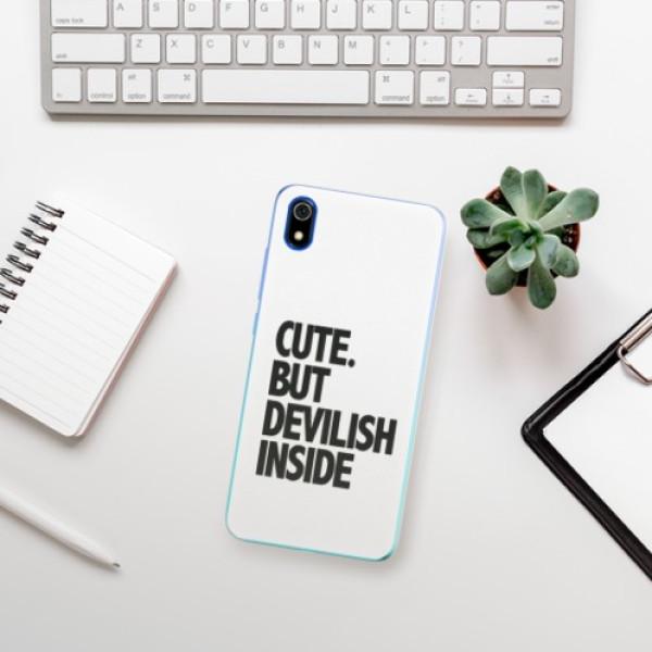 Odolné silikonové pouzdro iSaprio - Devilish inside - Xiaomi Redmi 7A