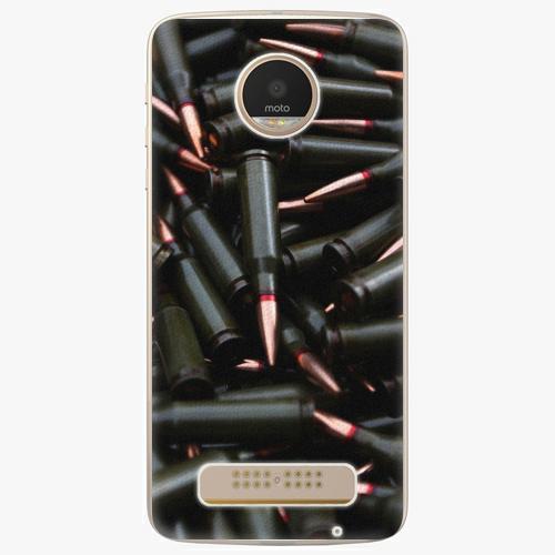Plastový kryt iSaprio - Black Bullet - Lenovo Moto Z Play