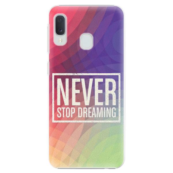 Plastové pouzdro iSaprio - Dreaming - Samsung Galaxy A20e