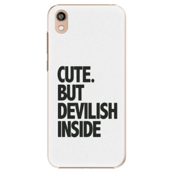 Plastové pouzdro iSaprio - Devilish inside - Huawei Honor 8S