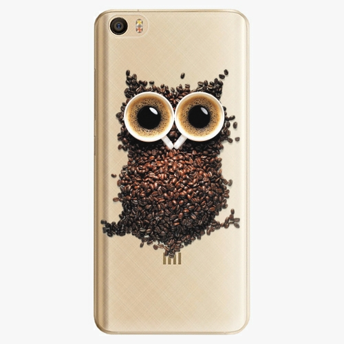 Plastový kryt iSaprio - Owl And Coffee - Xiaomi Mi5