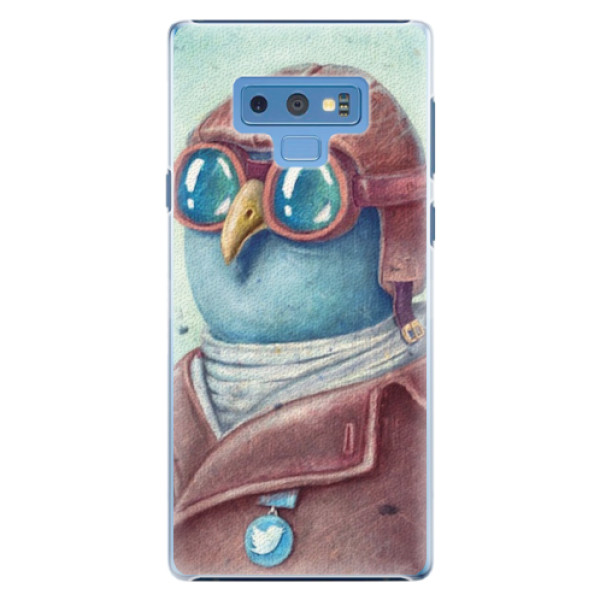 Plastové pouzdro iSaprio - Pilot twitter - Samsung Galaxy Note 9