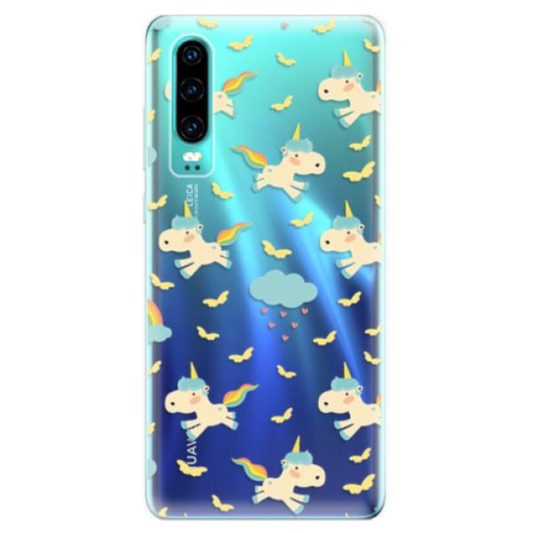 Odolné silikonové pouzdro iSaprio - Unicorn pattern 01 - Huawei P30