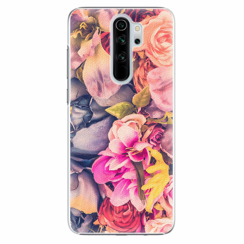 Plastový kryt iSaprio - Beauty Flowers - Xiaomi Redmi Note 8 Pro