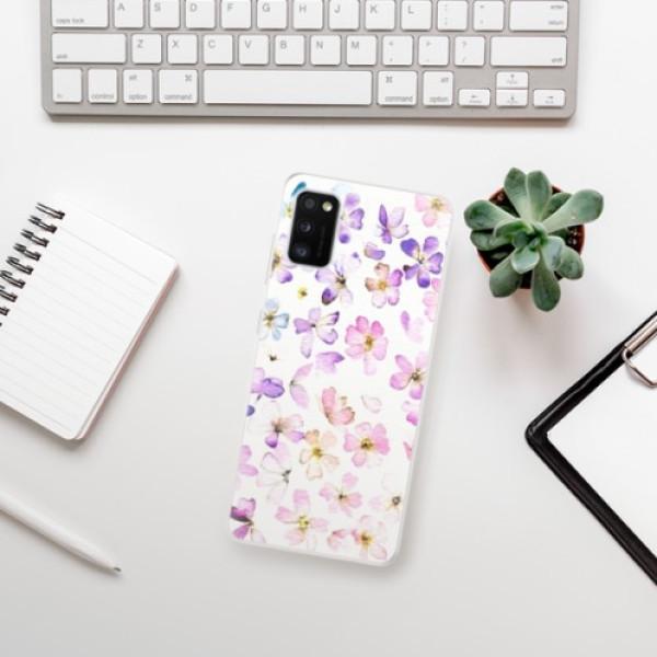 Odolné silikonové pouzdro iSaprio - Wildflowers - Samsung Galaxy A41