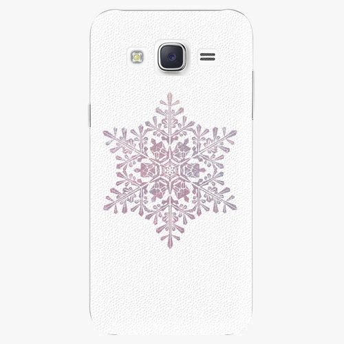 Plastový kryt iSaprio - Snow Flake - Samsung Galaxy Core Prime