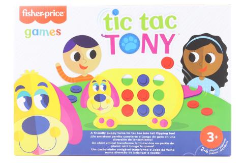 Hra pro předškoláky piškvorky s pejskem Tonym GWN53