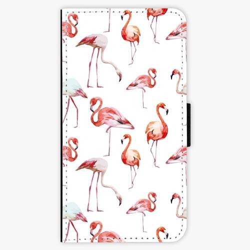 Flipové pouzdro iSaprio - Flami Pattern 01 - Samsung Galaxy J7 2016