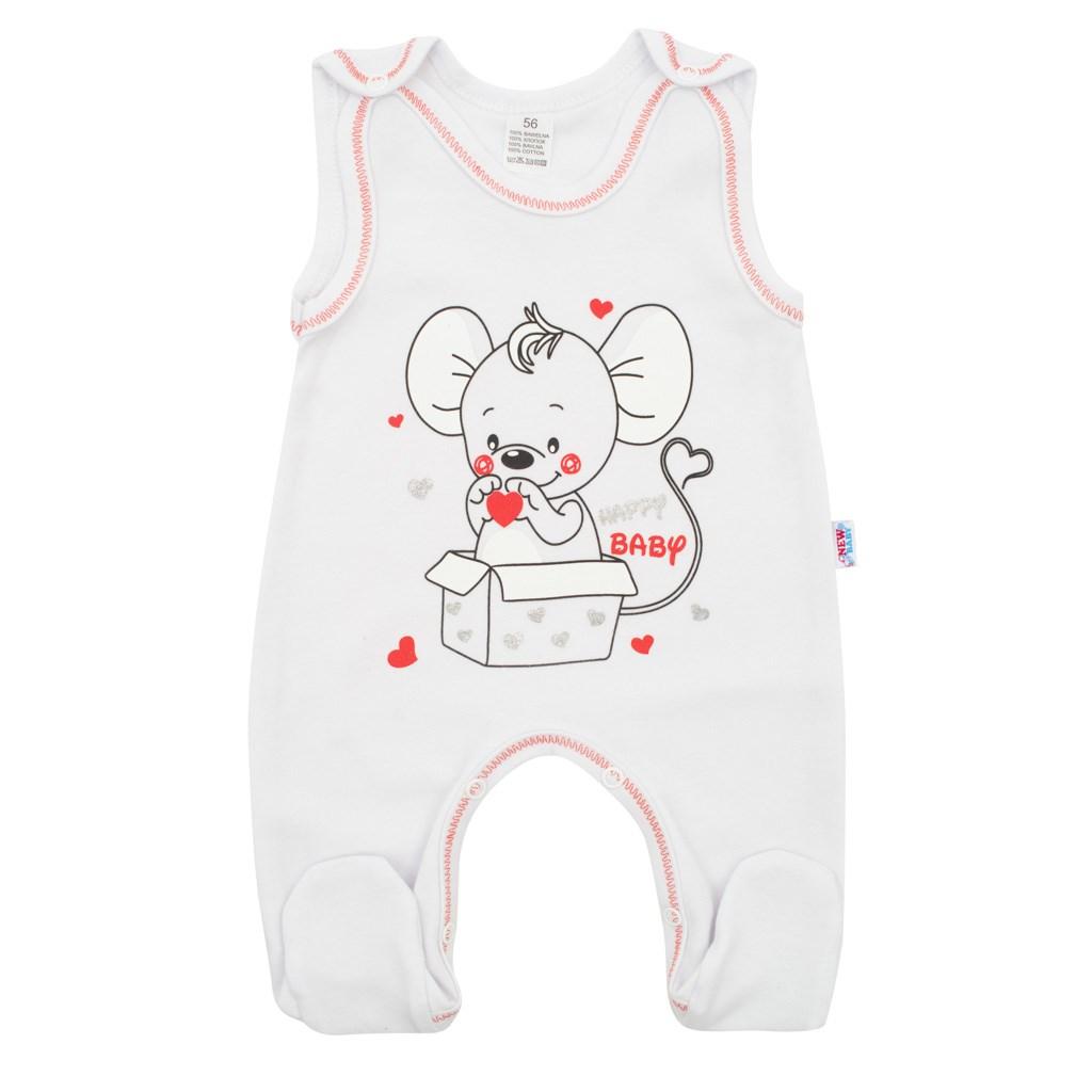 Kojenecké dupačky New Baby Mouse