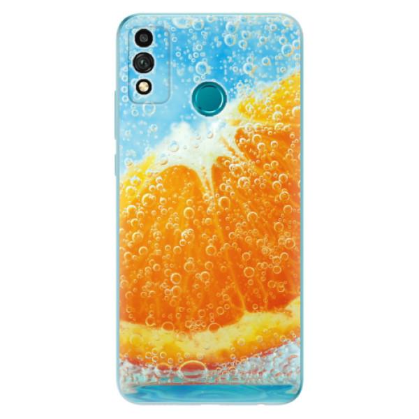 Odolné silikonové pouzdro iSaprio - Orange Water - Honor 9X Lite