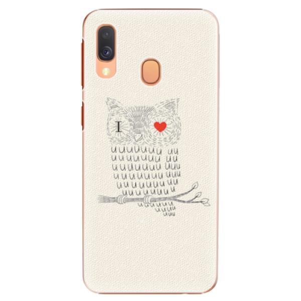 Plastové pouzdro iSaprio - I Love You 01 - Samsung Galaxy A40