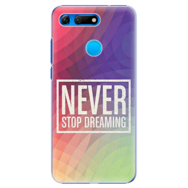 Plastové pouzdro iSaprio - Dreaming - Huawei Honor View 20