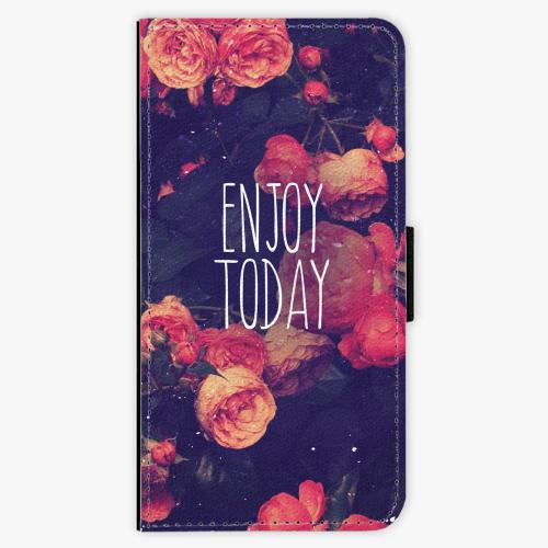 Flipové pouzdro iSaprio - Enjoy Today - iPhone 7