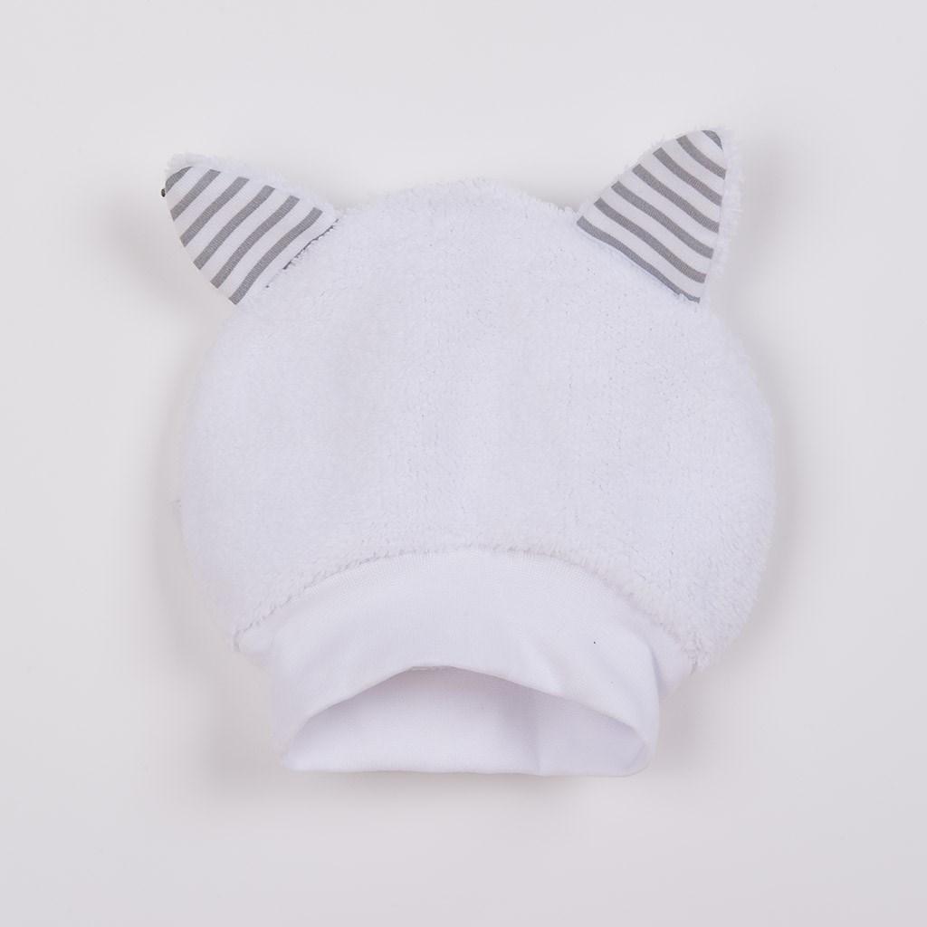 Luxusní dětská zimní čepička s oušky New Baby Snowy collection