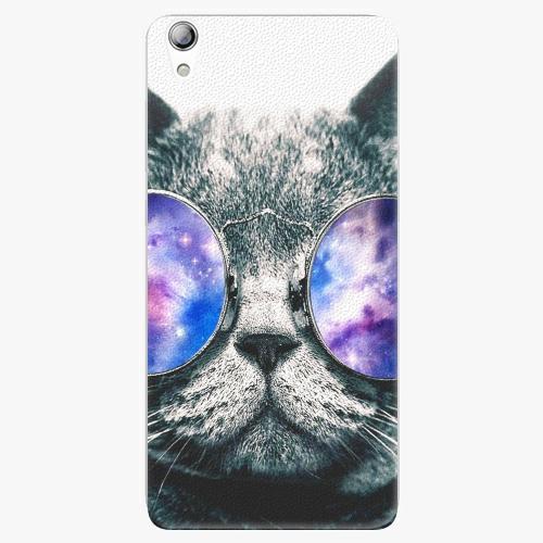Plastový kryt iSaprio - Galaxy Cat - Lenovo S850