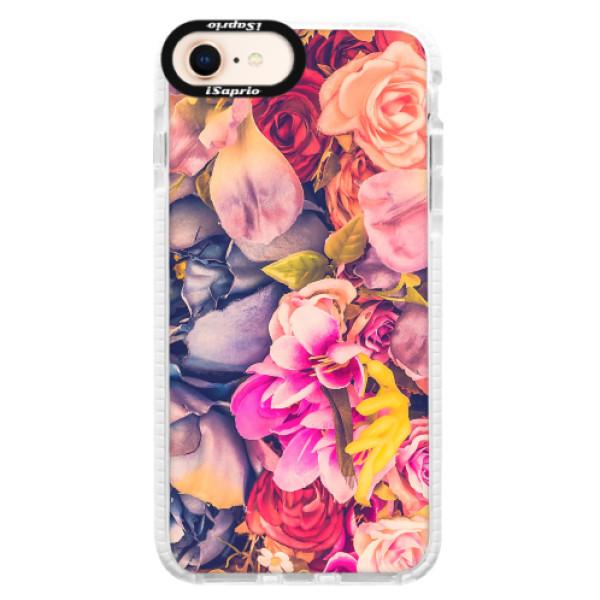 Silikonové pouzdro Bumper iSaprio - Beauty Flowers - iPhone 8