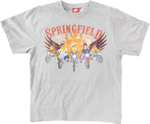 Tričko Simpsonovi - Springfield