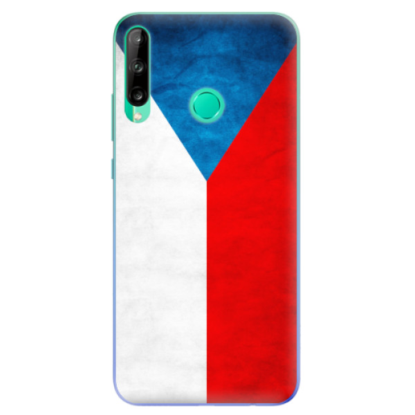Odolné silikonové pouzdro iSaprio - Czech Flag - Huawei P40 Lite E
