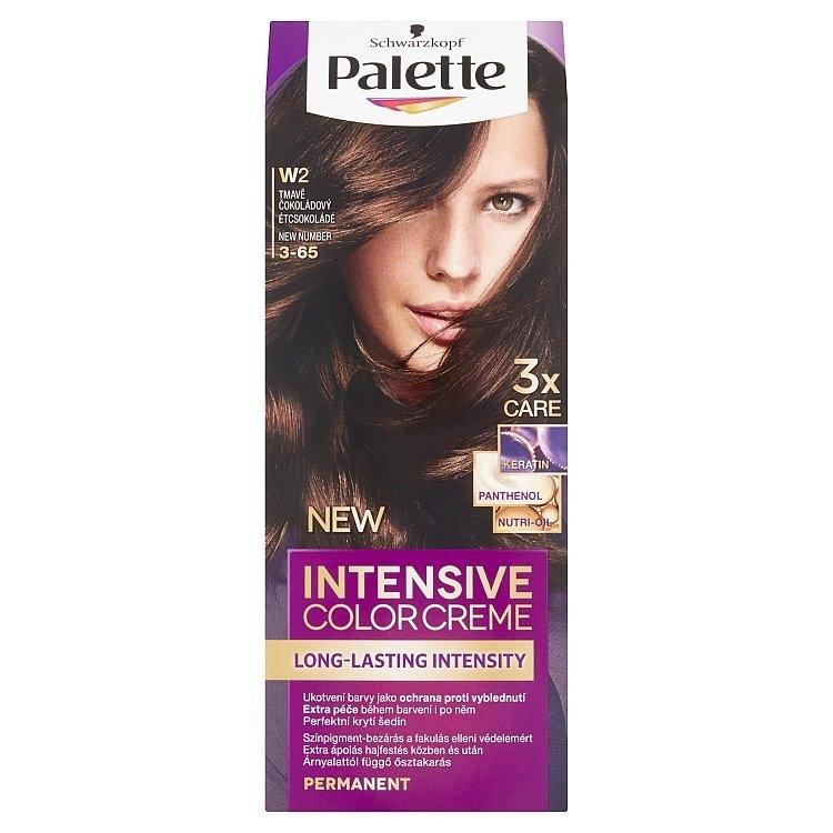 Schwarzkopf Intensive Color Creme barva na vlasy Tmavě Čokoládový W2 (3-65)