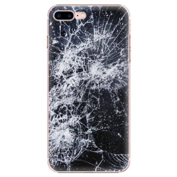 Plastové pouzdro iSaprio - Cracked - iPhone 7 Plus