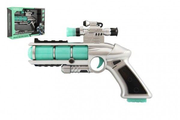 Pistole se zaměřovačem 20 cm se zvukem a se světlem