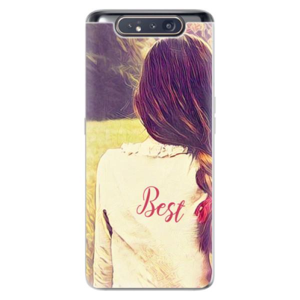 Odolné silikonové pouzdro iSaprio - BF Best - Samsung Galaxy A80