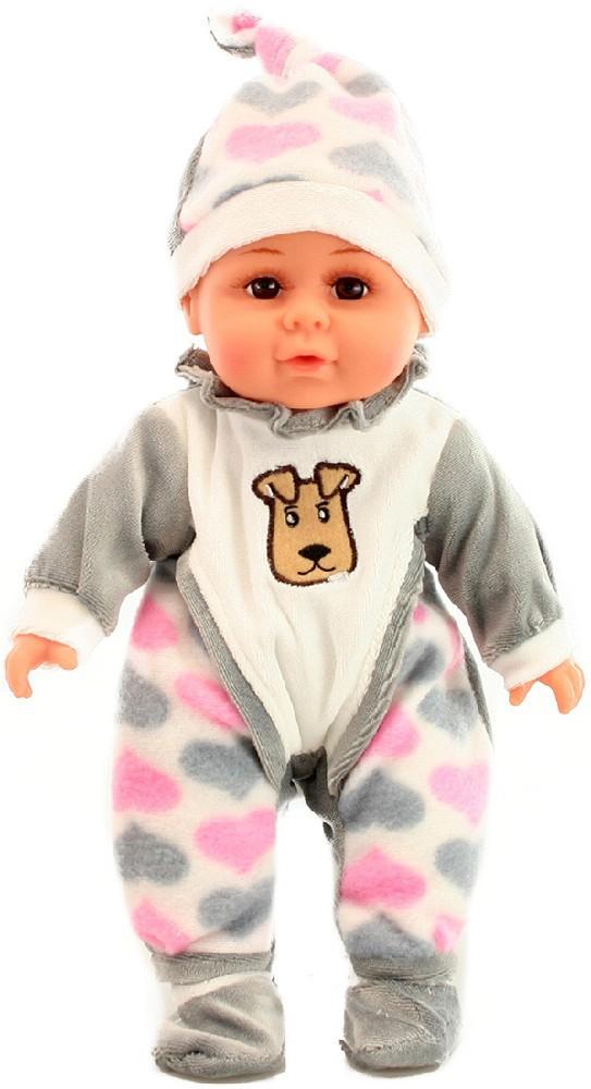 Panenka 30 cm miminko holčička v pyžámku měkké tělíčko v sáčku