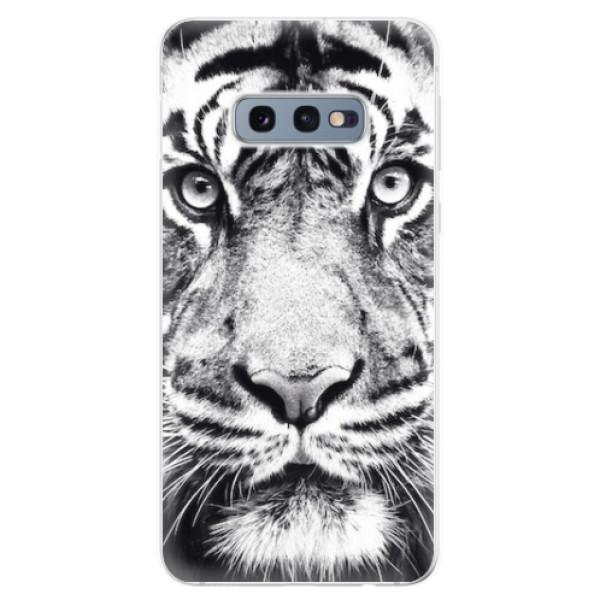 Odolné silikonové pouzdro iSaprio - Tiger Face - Samsung Galaxy S10e