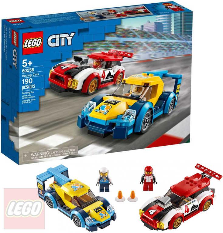 LEGO CITY Závodní auta 60256 STAVEBNICE
