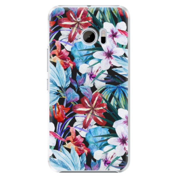 Plastové pouzdro iSaprio - Tropical Flowers 05 - HTC 10