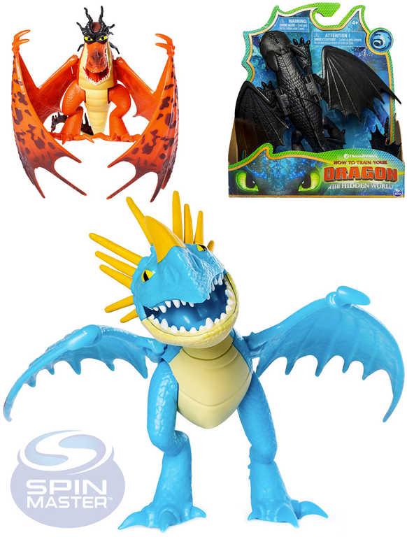 SPIN MASTER Funkční figurka drak Jak vycvičit draka 3 různé druhy plast