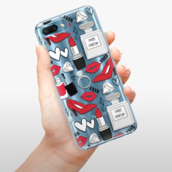 Plastové pouzdro iSaprio - Fashion pattern 03 - Huawei Honor 10