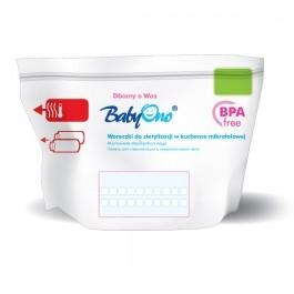 Sáčky do mikrovlnné trouby k sterilizaci Baby Ono